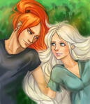 Harry Potter ~Bill and Fleur