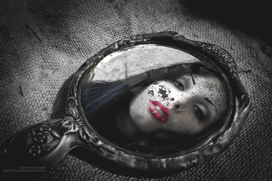 Not Your Regular Mirror Selfie by petra-gergely