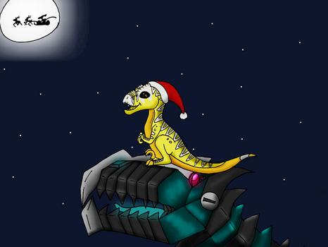 Santa Raptor Spotting
