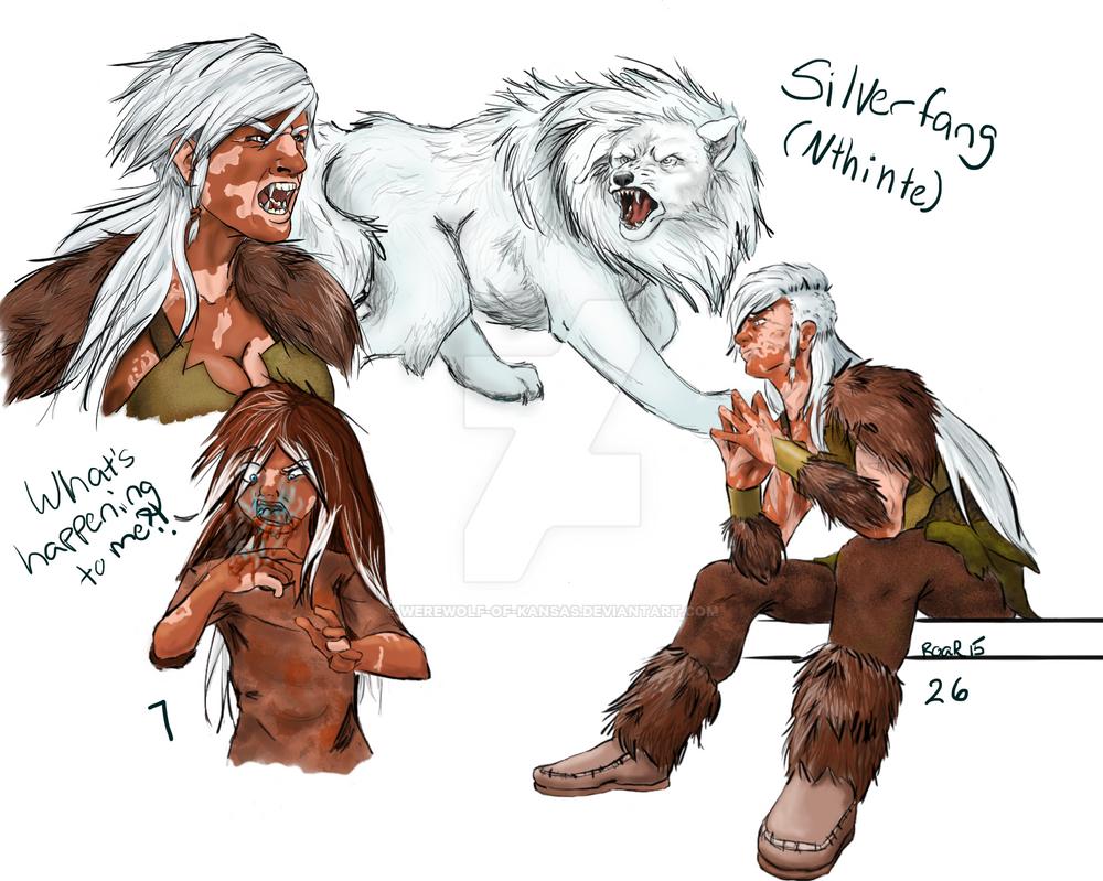 Silverfang character sheet by werewolf-of-kansas