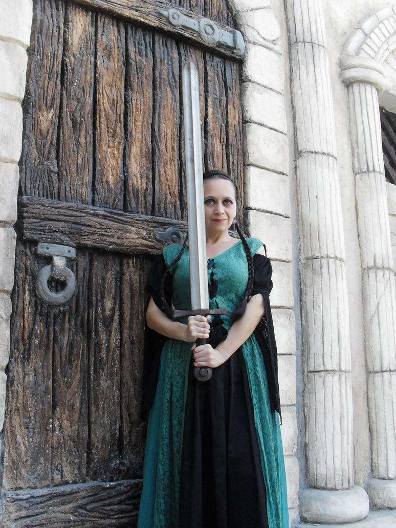 Dama En El Castillo 43 by Lilinaceleste