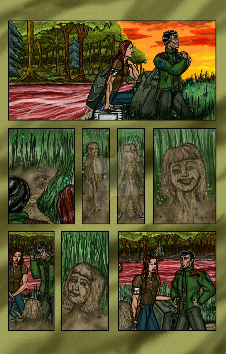 Cerci Colours Page 5 by CroctopusArt
