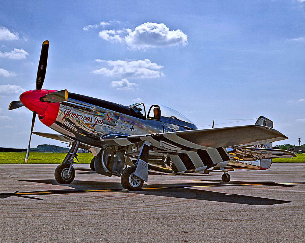 P-51D Mustang in HDR by Ryan-Warner