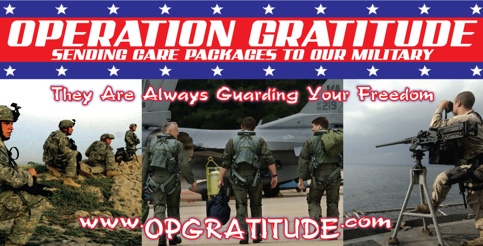 Operation Gratitude Banner by Ryan-Warner