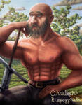 Weary Warrior by LuigiPunch
