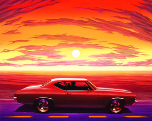 Chevelle Sunset by LuigiPunch