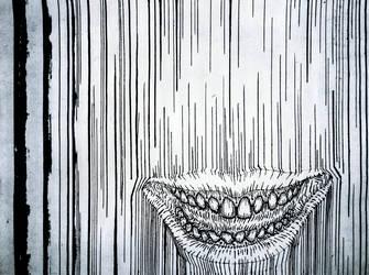 Line Smile Grime Bile (inktober) by LuigiPunch