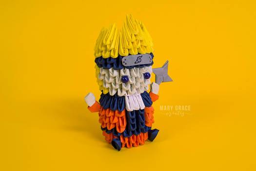 3D Origami Naruto