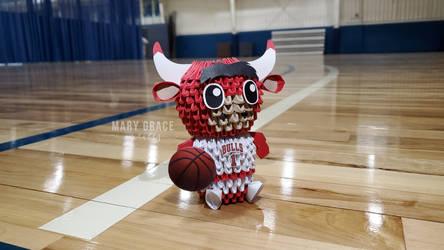 3D Origami Benny the Bull