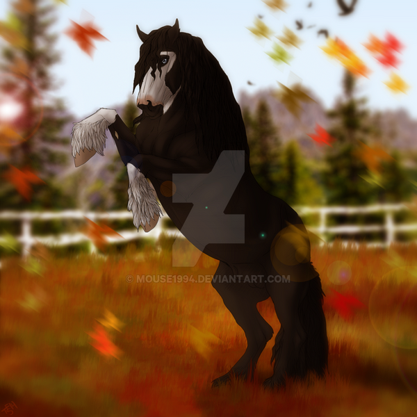 Falling Leaves By Thunderfury Studs by Mouse1994