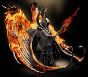 The fiery reaper