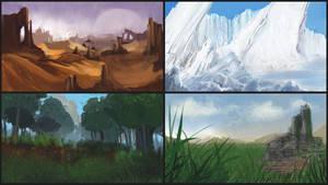 Biomes Sketches