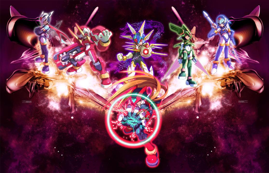megaman zero by 6izanagi9 on deviantart