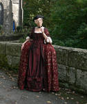 18thc gown,