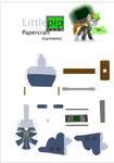 Littlepip Papercraft Garments