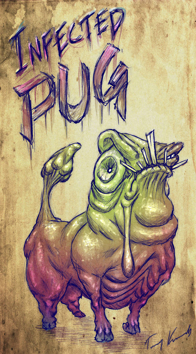 Infected Pug