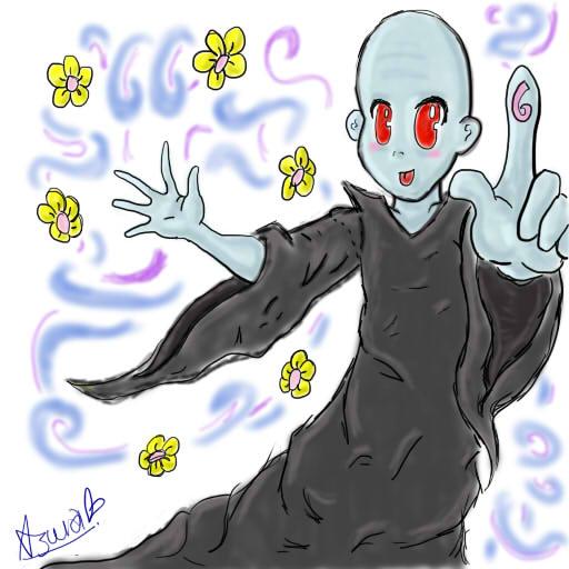 Voldemort Chibi by Misha-chan-703