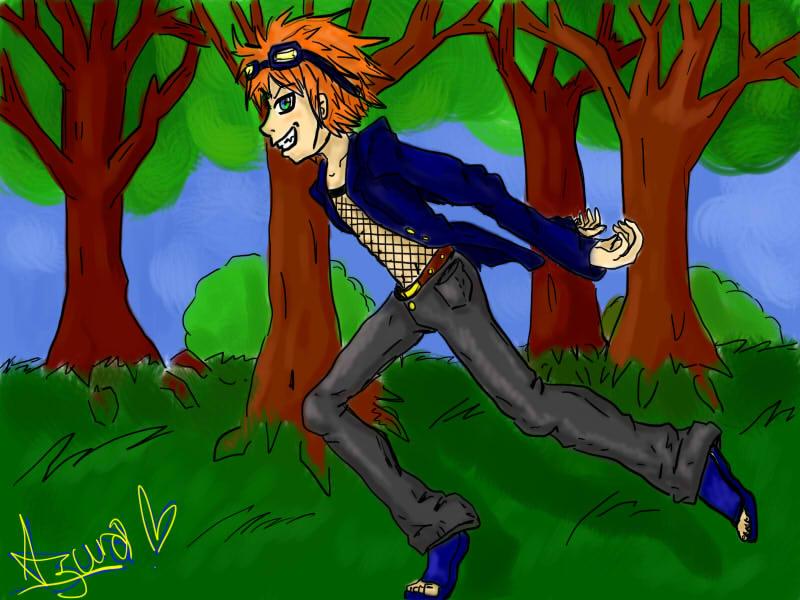 Ninja Boy Ray - One of my characters by Misha-chan-703