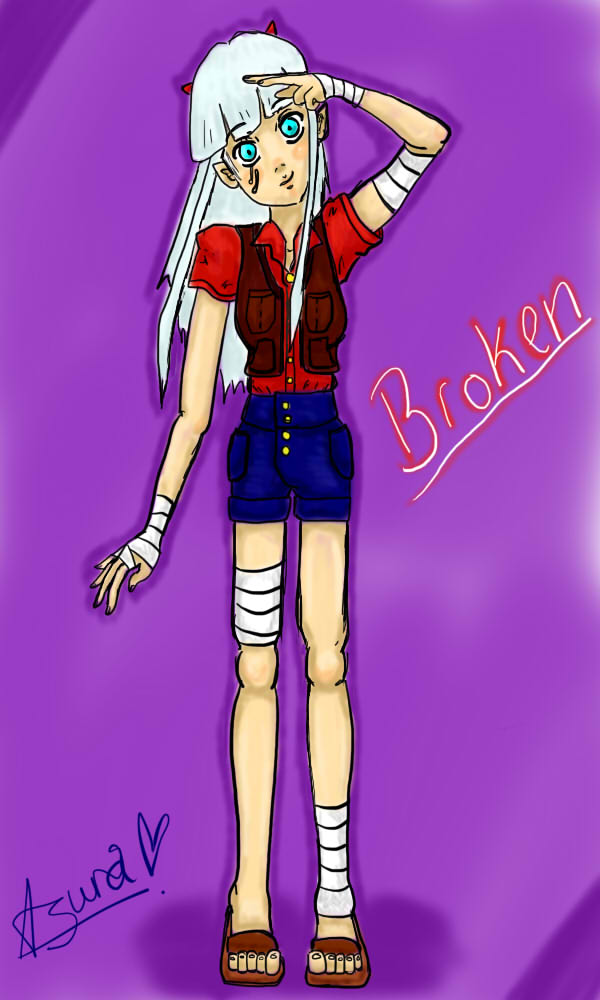 Broken - My character (maybe OC) by Misha-chan-703