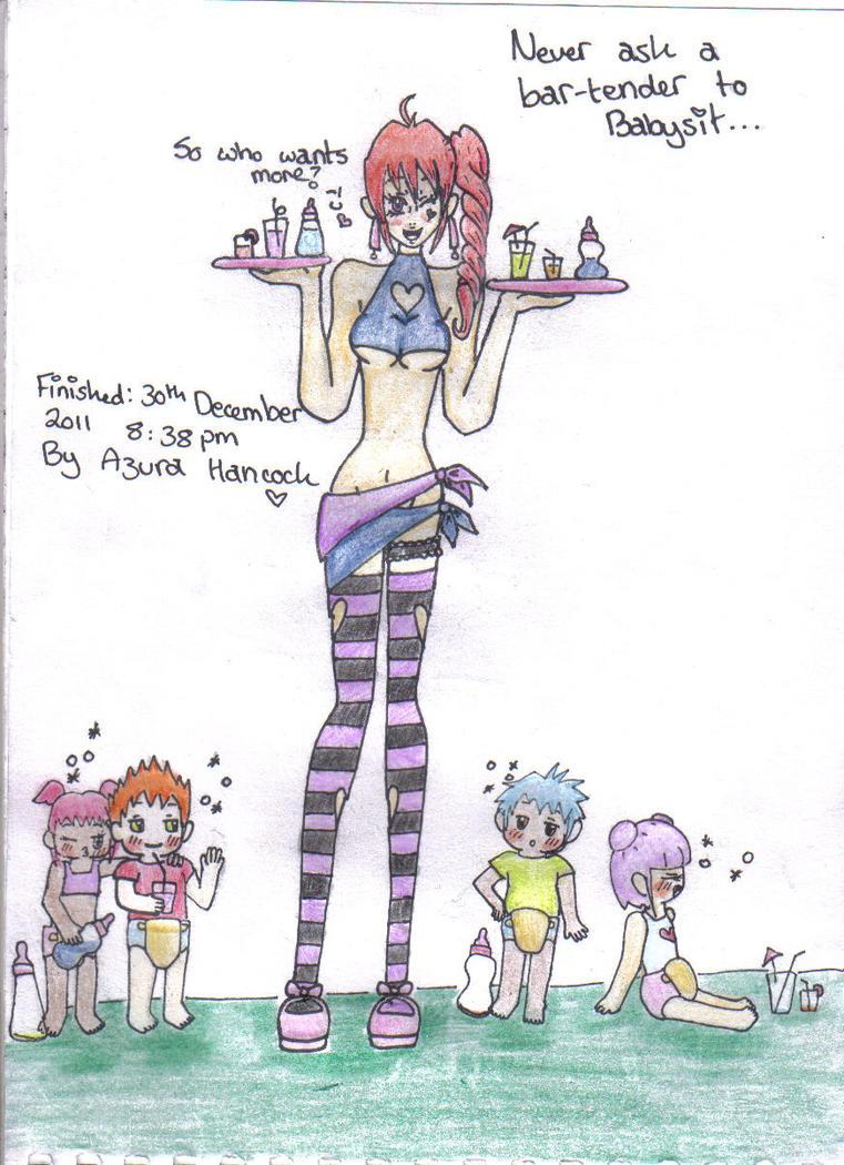 Babysitting Bartender by Misha-chan-703
