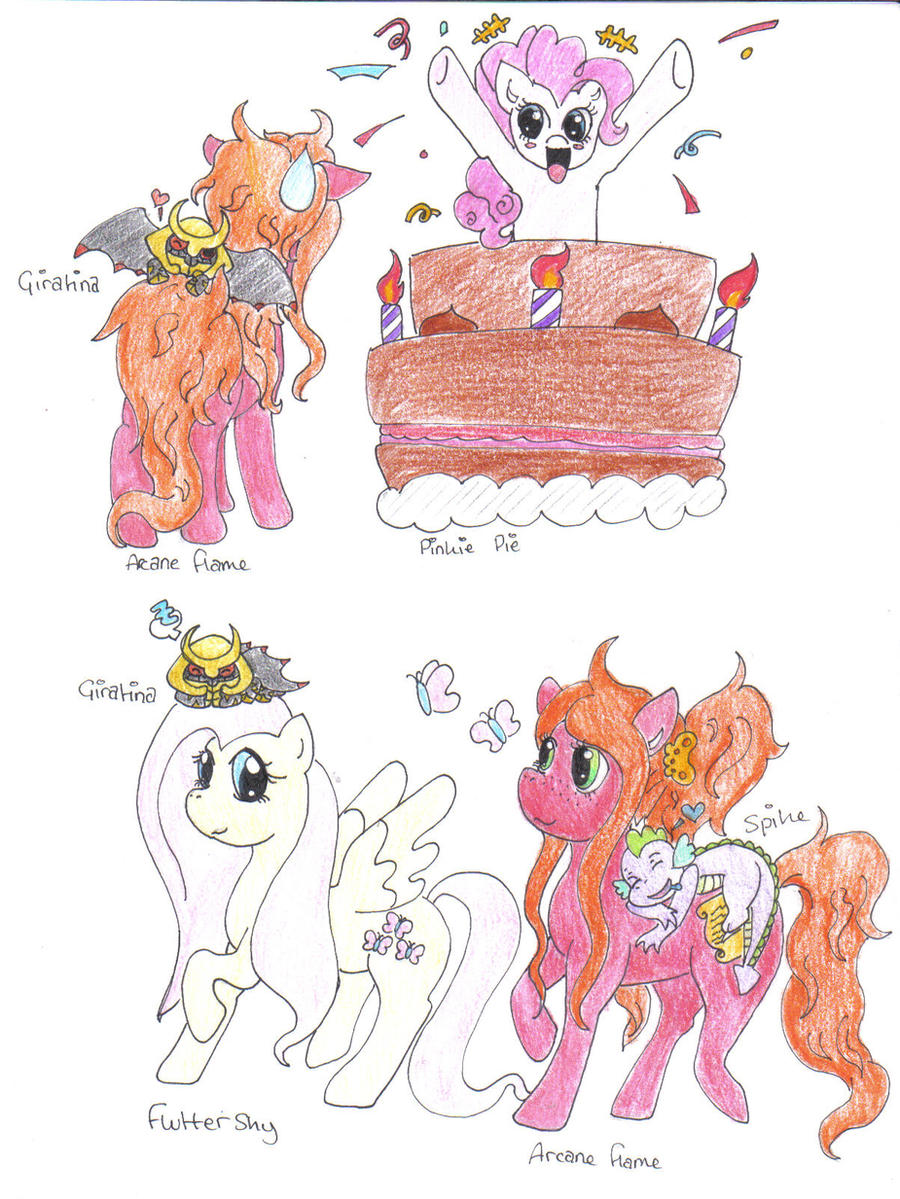 HAppY BIRTHDAY ARCANE FLAME~ by Misha-chan-703