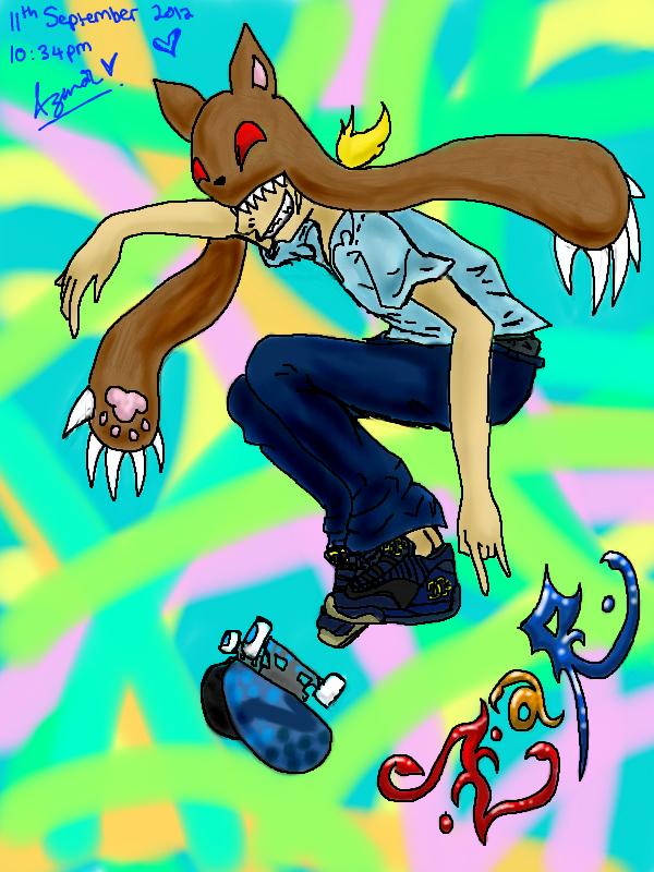 ZaR Skates! by Misha-chan-703