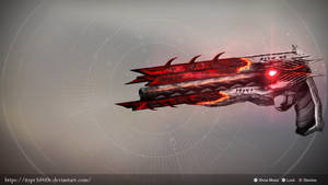 Arkhanah: Exotic hand cannon concept