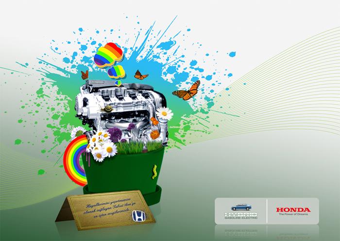 Honda Civic Hybrid Ad by ytse-jam