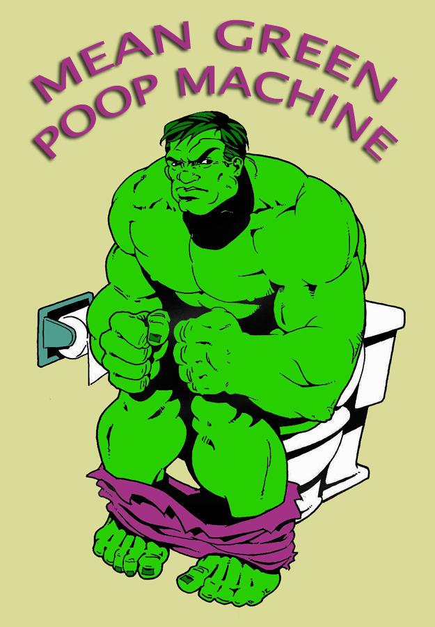 Mean Green Poop Machine by nevershop