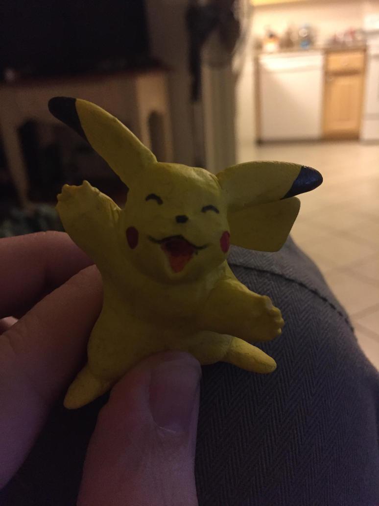 Pikachu sculpy by nevershop
