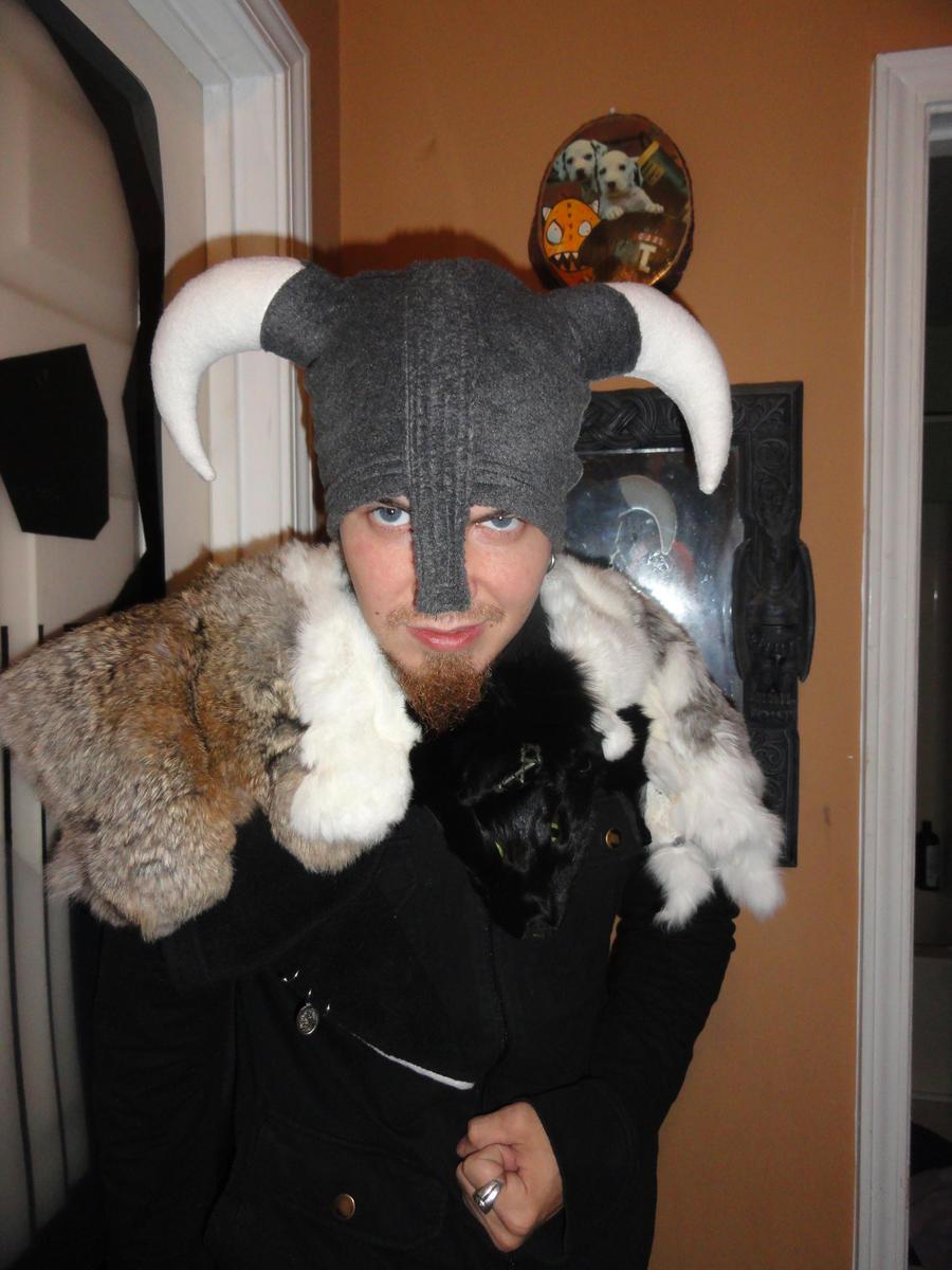 Skyrim Hat Fleece Elder Scrolls by HatcoreHats