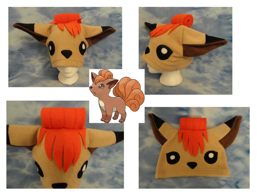 Vulpix Hat Pokemon Beanie by HatcoreHats