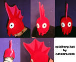 Zoidberg Hat with Finns Beanie Cosplay
