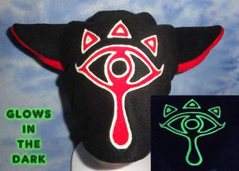 Sheikah Kitty Hat Glow in the Dark Zelda by HatcoreHats