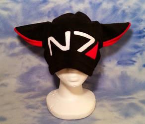 N7 Kitty Hat by HatcoreHats