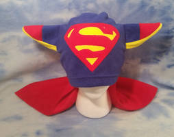 Superman Fox Hat with Cape
