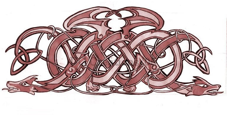 Dragon Celtic Knot By Dygee