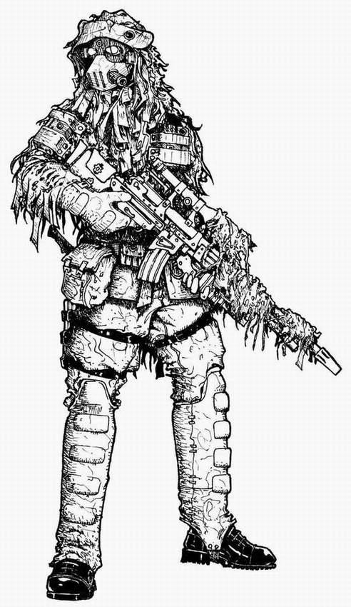 Coloring Pages Sniper