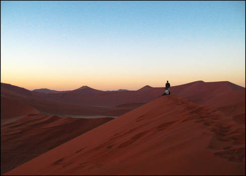Sunrise over Dune 45