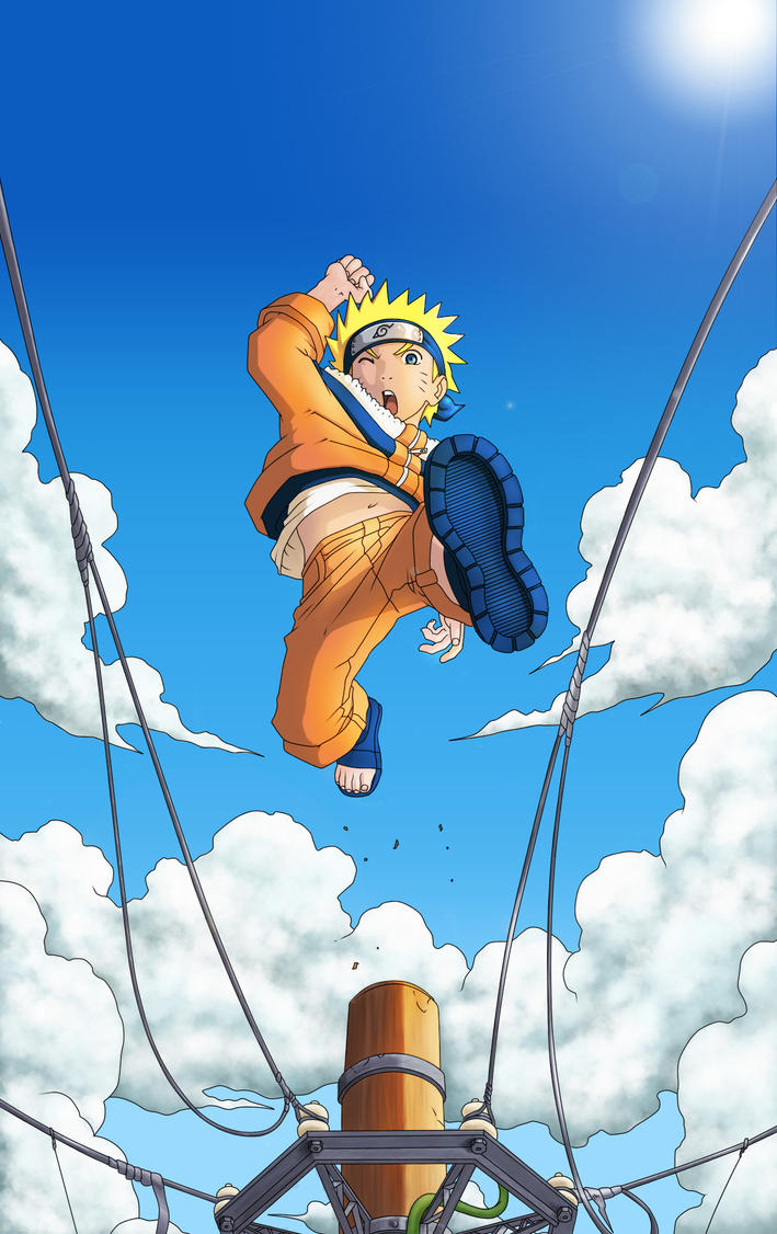 JUMP Naruto, jump! by Backfirejr