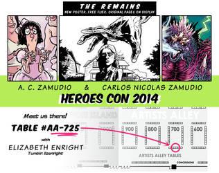 Heroes Con 2014 by ACZamudio