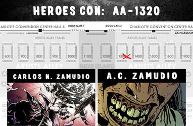 Heroes Con 2016 by ACZamudio