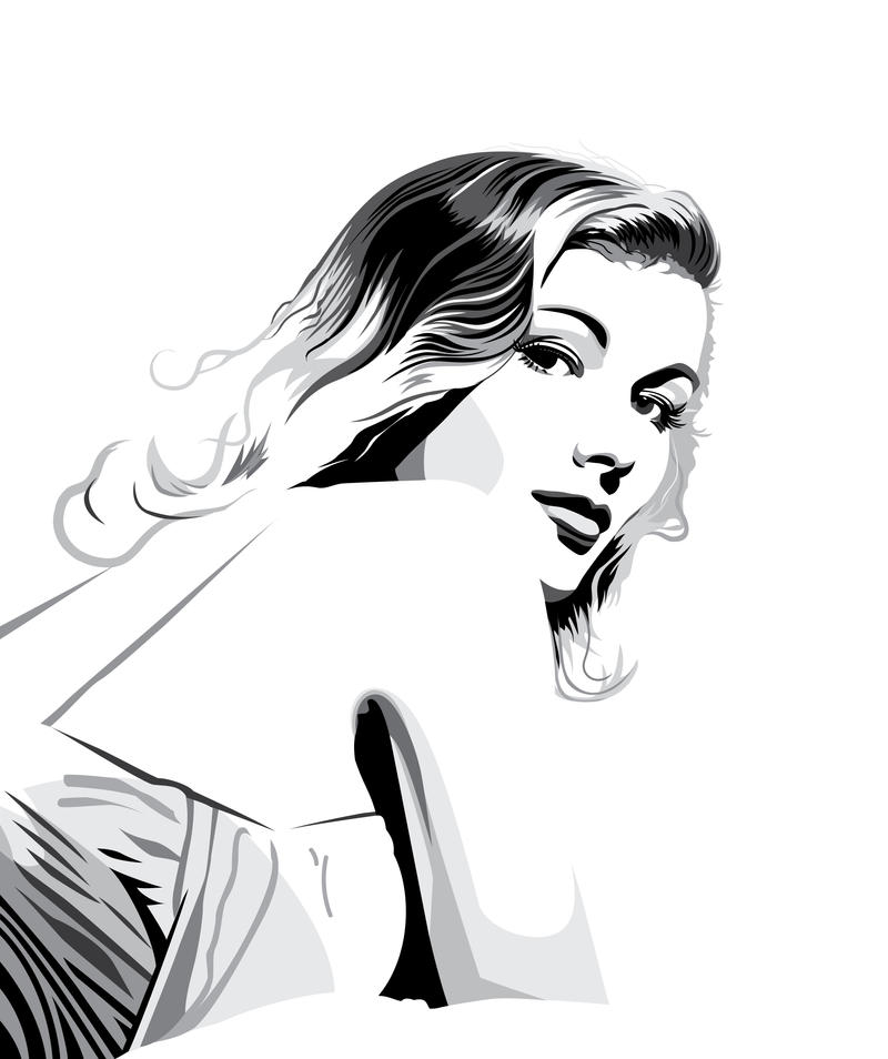 Veronica Lake by pin-n-needles