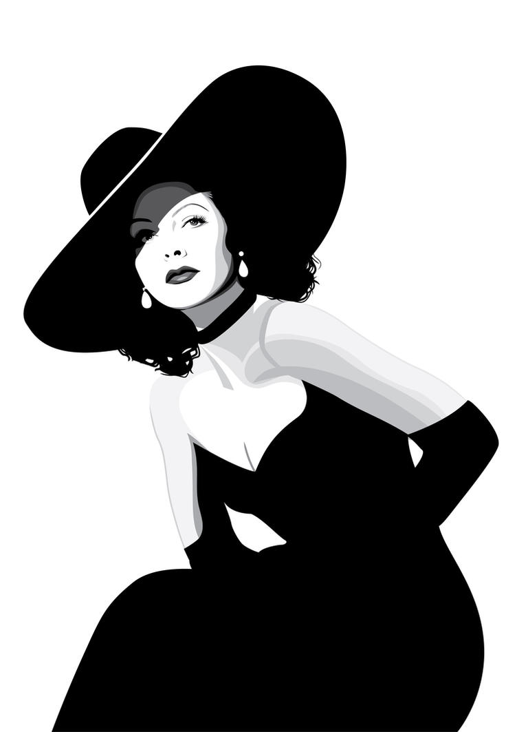 Hedy Lamarr by pin-n-needles