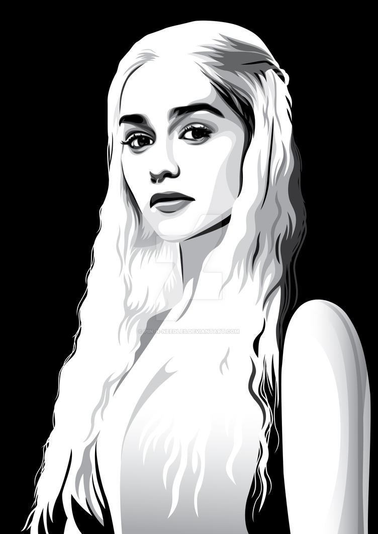 Daenerys Targaryen by pin-n-needles