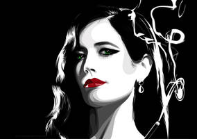 Eva Green by pin-n-needles