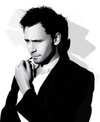 Tom Hiddleston by pin-n-needles
