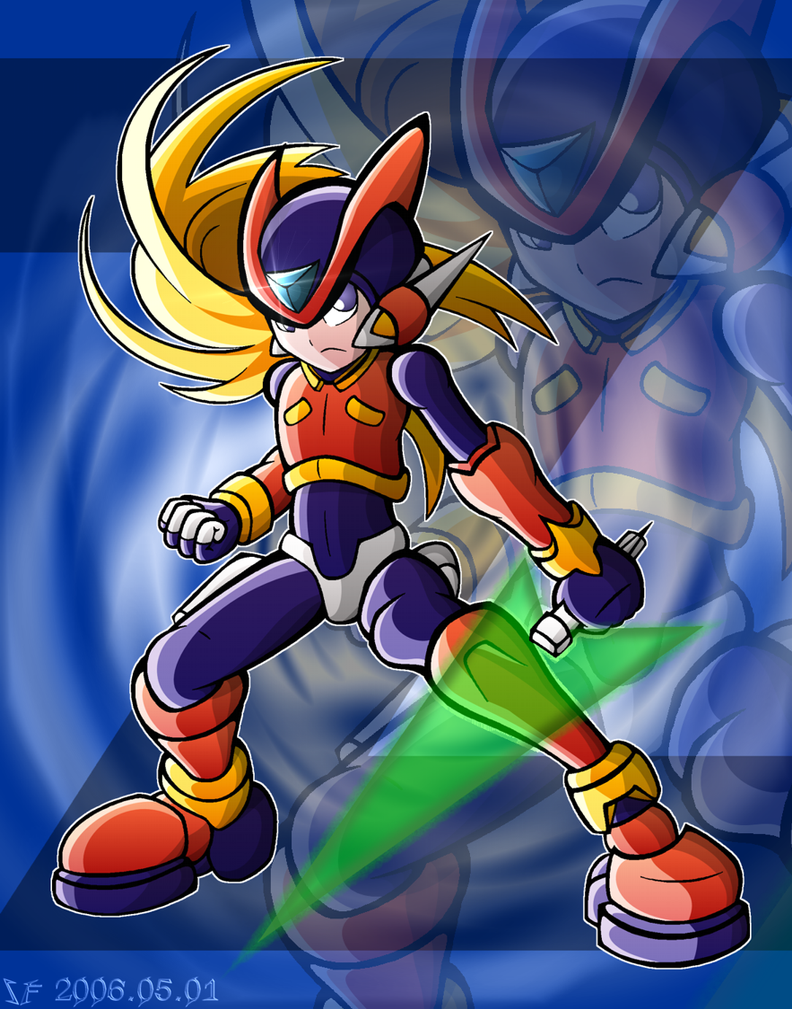 :Mega Man: Zero by ScionFighter