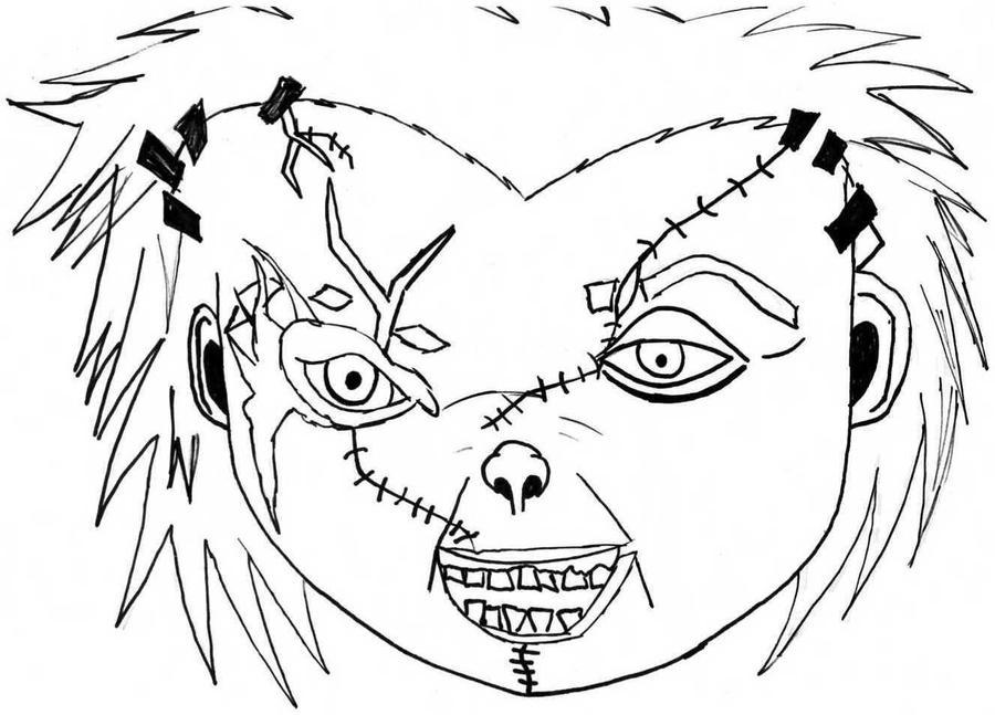 First Attempt At Chucky By Creepyapplesauce On DeviantArt