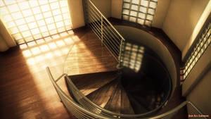 Stairwell Render by MisterJL